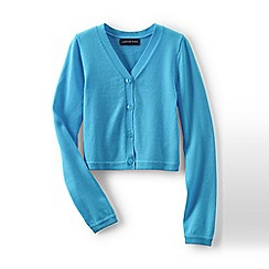 Lands' End - Blue girls' sophie cardigan