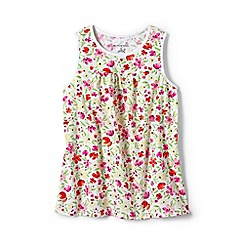 Lands' End - Multi girls' patterned jersey vest top