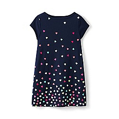 Lands' End - Multi girls' a-line graphic legging top