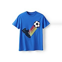 Lands' End - Blue boys' applique graphic tee