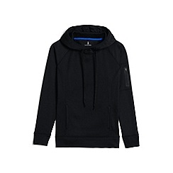 Lands' End - Black le sport pullover hoodie