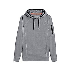 Lands' End - Grey le sport pullover hoodie