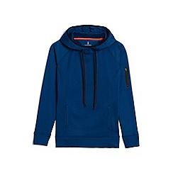 Lands' End - Blue le sport pullover hoodie