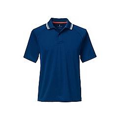Lands' End - Blue fairway golf polo
