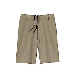 Lands' End - Beige active shake dry water shorts