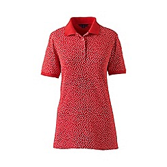 Lands' End - Red pique polo