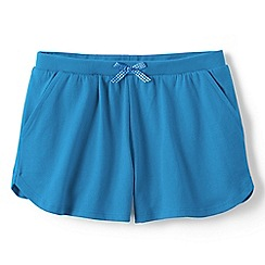 Lands' End - Girls Toddler Blue patterned pocket shorts