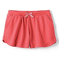 Lands' End - Girls Toddler Orange patterned pocket shorts