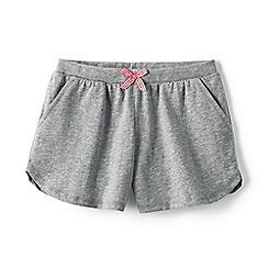Lands' End - Grey girls' pocket shorts