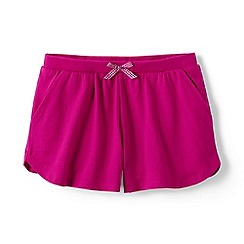 Lands' End - Pink girls' pocket shorts