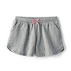 Lands' End - Grey girls' pocket shorts