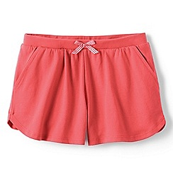 Lands' End - Orange girls' pocket shorts