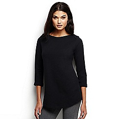Lands' End - Black ballet neck tunic