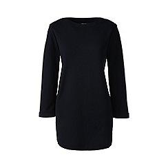 Lands' End - Black plus ballet neck tunic