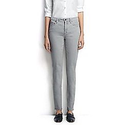 Lands' End - Grey regular mid rise slim leg jeans