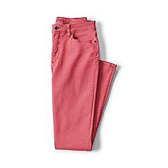 Lands' End - Pink petite mid rise slim leg jeans
