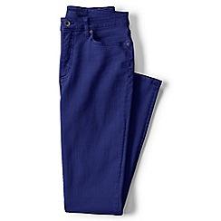 Lands' End - Blue plus mid rise slim leg jeans