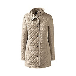Lands' End - Green quilted primaloft parka