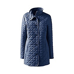 Lands' End - Blue petite quilted primaloft parka