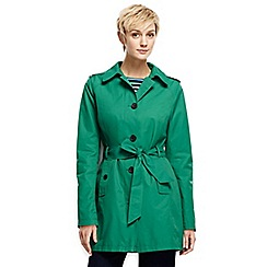 Lands' End - Green harbour trench coat