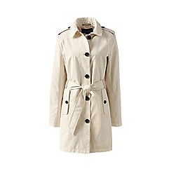 Lands' End - Beige harbour trench coat