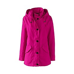 Lands' End - Pink stormraker rain jacket
