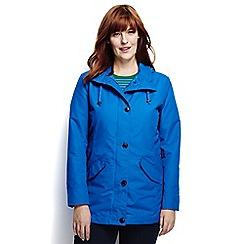 Lands' End - Blue plus stormraker rain jacket