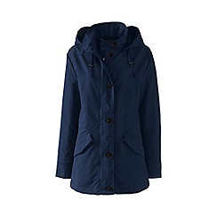 Lands' End - Blue plus stormraker rain jacket