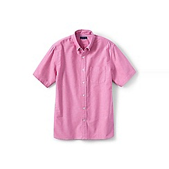 Lands' End - Red short sleeve sail rigger oxford shirt