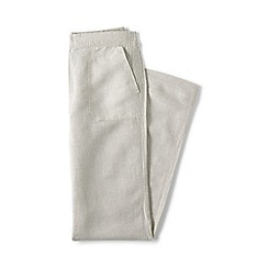 Lands' End - Beige regular linen trousers