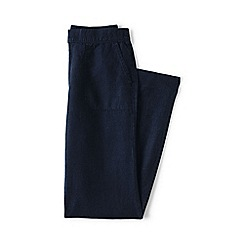 Lands' End - Blue plus linen trousers