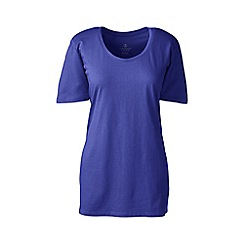 Lands' End - Blue cotton/modal sleep tee