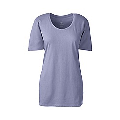 Lands' End - Purple cotton/modal sleep tee
