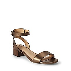 Lands' End - Brown regular amalia ankle strap sandals