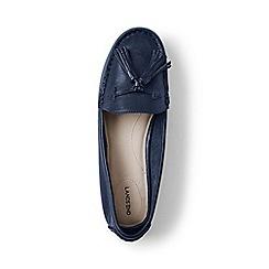 Lands' End - Blue regular adie tassel loafers