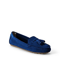 Lands' End - Blue  regular adie tassel loafers