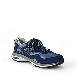 Lands' End - Blue  regular trekker shoes