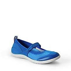 Lands' End - Blue  regular mary jane water shoes
