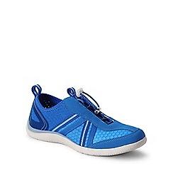 Lands' End - Blue regular water shoes