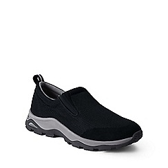 Lands' End - Black regular mesh trekker shoes