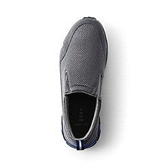 Lands' End - Grey regular mesh trekker shoes