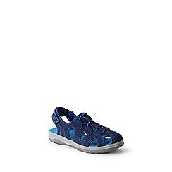 Lands' End - Blue kids' closed-toe action sandals