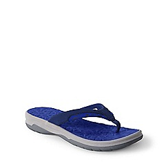 Lands' End - Blue kids' action flip-flops