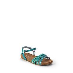 Lands' End - Blue girls' plaited sandals