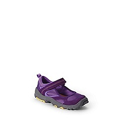 Lands' End - Purple girls' mary jane trekker shoes