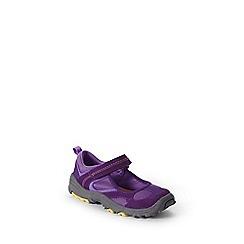 Lands' End - Purple girls' mary jane trekker shoes