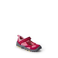 Lands' End - Red girls' mary jane trekker shoes