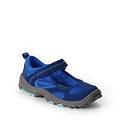 Lands' End - Blue girls' mary jane trekker shoes