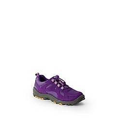Lands' End - Purple kids' trekker shoes