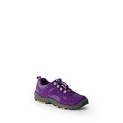 Lands' End - Purple kids' trekker shoes